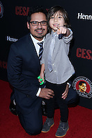 "HOLLYWOOD, LOS ANGELES, CA, USA - MARCH 20: Michael Pena, Roman Pena at the Los Angeles Premiere Of Pantelion Films And Participant Media's ""Cesar Chavez"" held at TCL Chinese Theatre on March 20, 2014 in Hollywood, Los Angeles, California, United States. (Photo by David Acosta/Celebrity Monitor)"