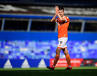 Blackpool's Ryan Hardie applauds the fans at the final whistle<br /> <br /> Photographer Chris Vaughan/CameraSport<br /> <br /> The EFL Sky Bet League One - Coventry City v Blackpool - Saturday 7th September 2019 - St Andrew's - Birmingham<br /> <br /> World Copyright © 2019 CameraSport. All rights reserved. 43 Linden Ave. Countesthorpe. Leicester. England. LE8 5PG - Tel: +44 (0) 116 277 4147 - admin@camerasport.com - www.camerasport.com