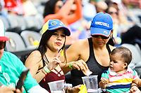 aficionadas de Caribes de Anzo&aacute;tegui de Venezuela.<br /> <br /> Aspectos del segundo d&iacute;a de actividades de la Serie del Caribe con el partido de beisbol  &Aacute;guilas Cibae&ntilde;as de Republica Dominicana contra Caribes de Anzo&aacute;tegui de Venezuela en estadio Panamericano en Guadalajara, M&eacute;xico,  s&aacute;bado 3 feb 2018. (Foto  / Luis Gutierrez)