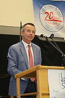 Landrat Thomas Will bei seiner Ansprache