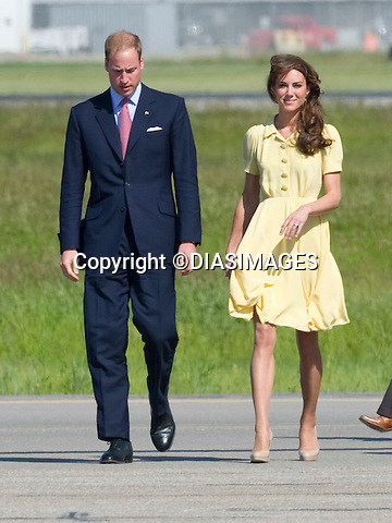 """PRINCE WILLIAM & KATE CANADA.7-year-old Diamond Marshall who is terminally ill hugs Kate on arrival at Calgary Airport, Alberta_07/07/2011.Mandatory Credit Photo: ©DIASIMAGES. .**ALL FEES PAYABLE TO: """"NEWSPIX INTERNATIONAL""""**..IMMEDIATE CONFIRMATION OF USAGE REQUIRED:.DiasImages, 31a Chinnery Hill, Bishop's Stortford, ENGLAND CM23 3PS.Tel:+441279 324672  ; Fax: +441279656877.Mobile:  07775681153.e-mail: info@newspixinternational.co.uk"""