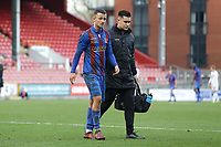Danny Parish of Maldon leaves the field after being sent off during Leyton Orient vs Maldon & Tiptree, Emirates FA Cup Football at The Breyer Group Stadium on 10th November 2019