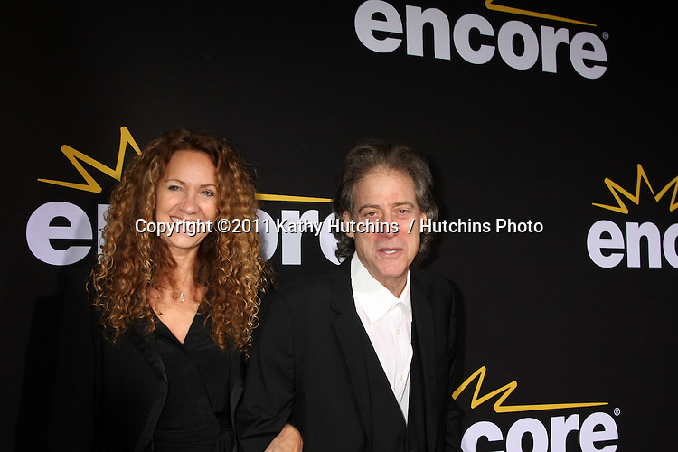 """LOS ANGELES - DEC 7:  Richard Lewis arrives at the Premiere Of Encore's """"Method To The Madness Of Jerry Lewis"""" at Paramount Studios Theater on December 7, 2011 in Los Angeles, CA"""