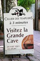 Winery shop. Cellier des Templiers. Banyuls sur Mer, Roussillon, France
