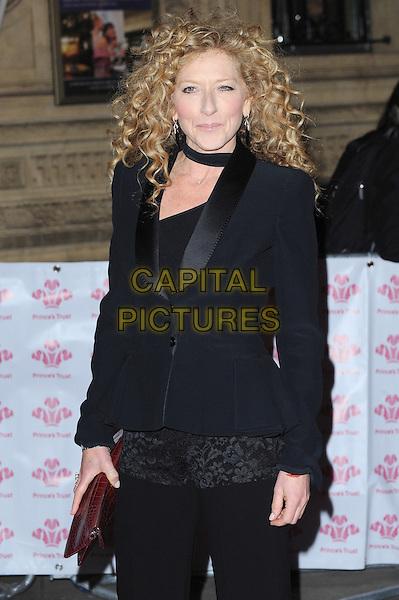 Kelly Hoppen .The Prince's Trust Comedy Gala, Royal Albert Hall, London, England..28th November 2012.half length blazer black .CAP/BEL.©Tom Belcher/Capital Pictures.