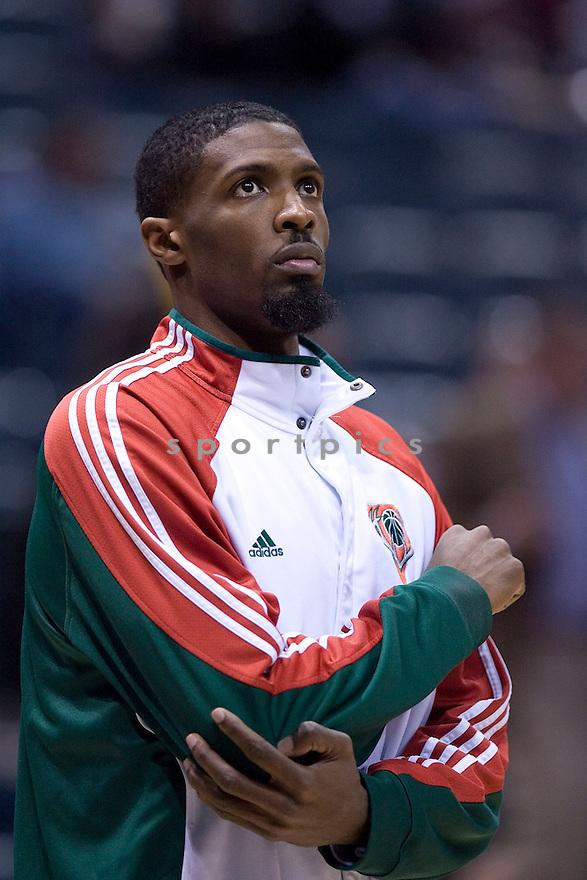 Hakim Warrick..January  30, 2010 Milwaukee, WI. Bradley Center...Milwaukee Bucks won over the Miami Heat 95-84