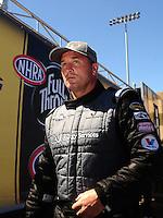 Jul. 18, 2010; Sonoma, CA, USA; NHRA top fuel dragster driver Bob Vandergriff during the Fram Autolite Nationals at Infineon Raceway. Mandatory Credit: Mark J. Rebilas-