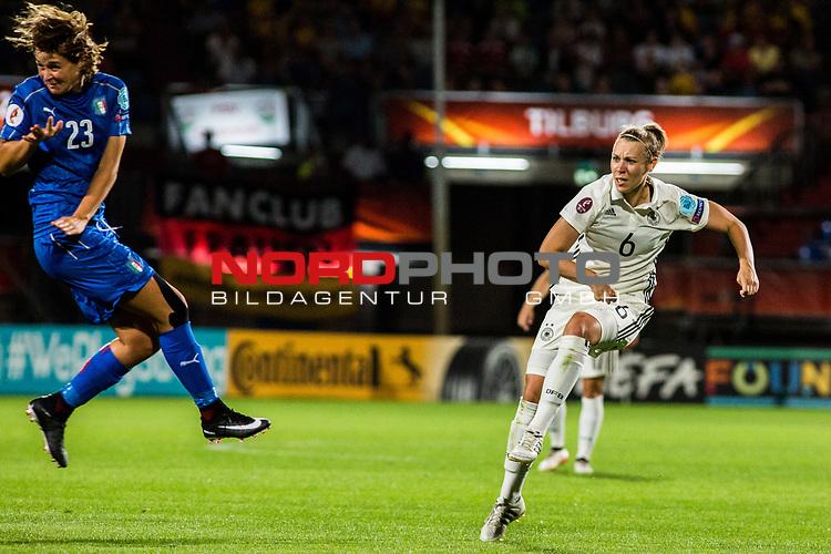 21.07.2017, Koenig Willem II Stadion , Tilburg, NLD, Tilburg, UEFA Women's Euro 2017, Deutschland (GER) vs Italien (ITA), <br /> <br /> im Bild | picture shows<br /> Kristin Demann (Deutschland #6) | (Germany #6), <br /> <br /> Foto © nordphoto / Rauch