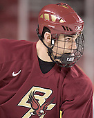 Brian Boyle - Boston College's morning skate on Friday, December 30, 2005 at Magness Arena in Denver, Colorado.  Boston College defeated Ferris State that afternoon in a shootout and defeated Princeton the following night to win the Denver Cup.