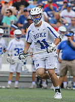 Annapolis, MD - May 20, 2018: Duke Blue Devils Terry Lindsay (11) in action during the quarterfinal game between Duke vs John Hopkins at  Navy-Marine Corps Memorial Stadium in Annapolis, MD.   (Photo by Elliott Brown/Media Images International)