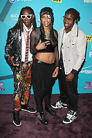 LOS ANGELES, CA - NOVEMBER 05: Jemelle Joseph, Julien Joseph and Lyric Da Queen at the FOX's 'The X Factor' Finalists Party at The Bazaar at the SLS Hotel Beverly Hills on November 5, 2012 in Los Angeles, California. Credit: mpi26/MediaPunch Inc. .<br />