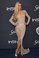 05 January 2020 - Beverly Hills, California - Paris Hilton. 21st Annual InStyle and Warner Bros. Golden Globes After Party held at Beverly Hilton Hotel. Photo Credit: Birdie Thompson/AdMedia