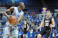 December 12, 2015 - Colorado Springs, Colorado, U.S. -  Air Force guard, CJ Siples #2, during an NCAA basketball game between the Army West Point Black Knights and the Air Force Academy Falcons at Clune Arena, U.S. Air Force Academy, Colorado Springs, Colorado.  Army West Point defeats Air Force 90-80.