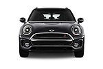 Car photography straight front view of a 2017 MINI Cooper Clubman-S-ALL4 5 Door Wagon Front View