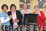 BARBECUE: Eating away at the Ballyheigue Festival Barbecue at the Kerry Head Resource Centre on Friday evening were, l-r: Margaret Flaherty, Ann O'Leary, Carol Williams and Mary Drury (Ballyheigue)..