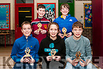 Duagh-Lyre Community Games Awards Night: Pictured at the Duagh-Lyre Community Games awards night at Duagh NS on Friday night last were the national  cycling on grass gold medalists Luke Sheridan & Angharad & Ferghal Cudlippe in front & county gold medalists Jack Sheehy & Dermot O'Brien at back.