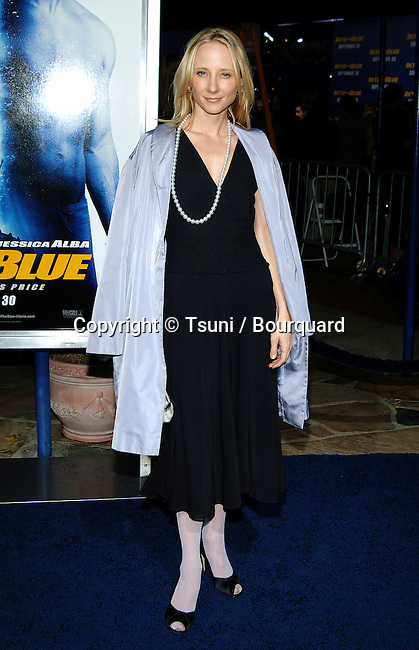 Anne Heche arriving at the INTO THE BLUE Premiere at the Westwood Village Theatre in Los Angeles. September 21, 2005.