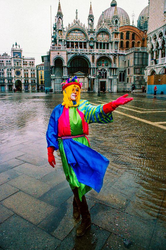 Carnevale (carnival), Piazza San Marco, Venice, Italy