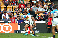 David Fusitua. Vodafone Warriors v Gold Coast Titans, NRL Rugby League round 2, Mt Smart Stadium, Auckland. 17 March 2018. Copyright Image: Renee McKay / www.photosport.nz