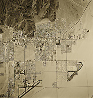 historical aerial photograph Riverside, California, 1972