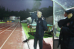 06 September 2008: U.S. head coach Bob Bradley (USA). The United States Men's National Team defeated the Cuba Men's National Team 1-0 at Estadio Nacional de Futbol Pedro Marrero in Havana, Cuba in a CONCACAF semifinal round FIFA 2010 South Africa World Cup Qualifier.