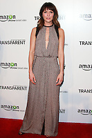 LOS ANGELES, CA, USA - SEPTEMBER 15: Katie Aselton arrives at the Los Angeles Premiere Of Amazon Studios' 'Transparent' held at the Ace Hotel on September 15, 2014 in Los Angeles, California, United States. (Photo by David Acosta/Celebrity Monitor)