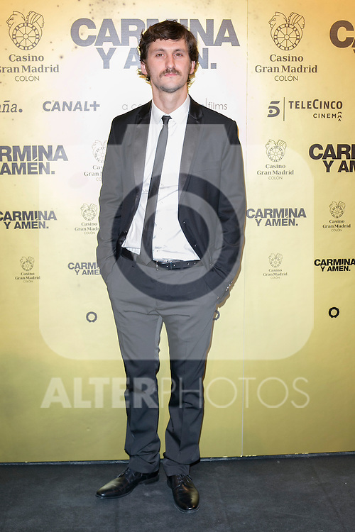 "Spanish  actor Raul Arevalo attend the Premiere of the movie ""Carmina y Amen"" at the Callao Cinema in Madrid, Spain. April 28, 2014. (ALTERPHOTOS/Carlos Dafonte)"