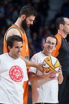 Valencia Basket Bojan Dubljevic during Turkish Airlines Euroleague match between Real Madrid and Valencia Basket at Wizink Center in Madrid, Spain. December 19, 2017. (ALTERPHOTOS/Borja B.Hojas)