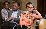 SOESTERBERG -  bondscoach Marieke Dijkstra tijdens  het Technisch Kader congres 2015 olv Topcoach Koen Gonnissen. COPYRIGHT KOEN SUYK