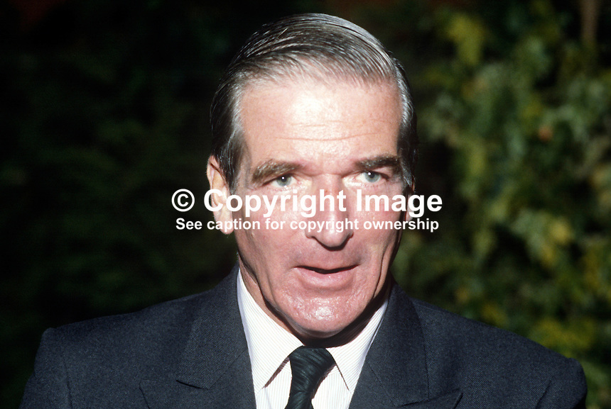 Lord Avon, 2nd earl, aka Nicholas Eden, the younger son of Prime Minister Anthony Eden. He was a junior minister in Margaret Thatcher's administration.  Lord Avon died of AIDS August 1985. 19840162LA1..Copyright Image from Victor Patterson, 54 Dorchester Park, Belfast, UK, BT9 6RJ..Tel: +44 28 9066 1296.Mob: +44 7802 353836.Voicemail +44 20 8816 7153.Skype: victorpattersonbelfast.Email: victorpatterson@me.com.Email: victorpatterson@ireland.com (back-up)..IMPORTANT: If you wish to use this image or any other of my images please go to www.victorpatterson.com and click on the Terms & Conditions. Then contact me by email or phone with the reference number(s) of the image(s) concerned.