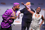 Brenda Braxton and cast from 'Wikimusical' performing in a special preview of the 2014 New York Musical Theatre Festival (NYMF) at Ford Foundation Studio Theatre in The Pershing Square Signature Center on July 2, 2014 in New York City.