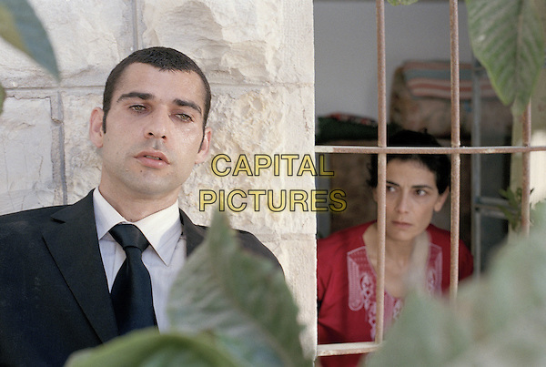 Kais Nashef & Haim Abbass.in Paradise Now (2005) .*Filmstill - Editorial Use Only*.CAP/AWFF.Supplied by Capital Pictures.