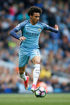 Leroy Sane of Manchester City in action during the English Premier League match at the Etihad Stadium, Manchester. Picture date: May 6th 2017. Pic credit should read: Simon Bellis/Sportimage