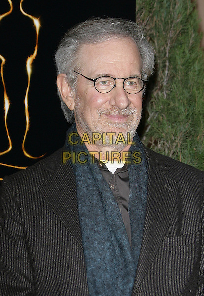 Steven Spielberg.85th Academy Awards Nominees Luncheon held at the Beverly Hilton Hotel, Beverly Hills, California, USA..February 4th, 2013.oscars headshot portrait blue shirt teal brown suit jacket glasses  beard facial hair .CAP/ADM.©AdMedia/Capital Pictures.