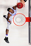 GREENVILLE, SC - MARCH 19: Amile Jefferson (21) of Duke University puts up a shot against the University of South Carolina during the 2017 NCAA Men's Basketball Tournament held at Bon Secours Wellness Arena on March 19, 2017 in Greenville, South Carolina. (Photo by Grant Halverson/NCAA Photos via Getty Images)