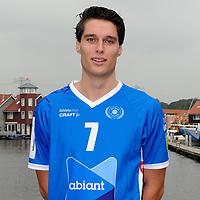 GRONINGEN - Volleybal, presentatie Abiant Lycurgus, seizoen 2017-2018, 27-09-2017, Lycurgus speler Frits van Gestel