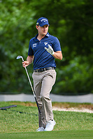 Emiliano Grillo (ARG) after chipping up tight on 5 during round 1 of the 2019 Charles Schwab Challenge, Colonial Country Club, Ft. Worth, Texas,  USA. 5/23/2019.<br /> Picture: Golffile | Ken Murray<br /> <br /> All photo usage must carry mandatory copyright credit (© Golffile | Ken Murray)