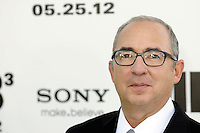 """Director Barry Sonnenfeld attending the """"Men In Black 3"""" New York Premiere, held at the Ziegfeld Theater in New York City on 23.05.2012.credit: Jennifer Graylock/face to face.- No Italy, UK, Australia, France -"""