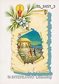 Interlitho, CHRISTMAS SANTA, SNOWMAN, nostalgic, paintings, candle(KL2457/3,#X#) Weihnachten, nostalgisch, Navidad, nostálgico, illustrations, pinturas