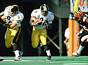 Pittsburgh Steelers Jerome Bettis (36) during a game from his 1998 season with the Pittsburgh Steelers. Jerome Bettis played for 13 seasons with 2 different team, was a 6-time Pro Bowler and was inducted into the Pro Football Hall of Fame in 2015.(SPORTPICS)
