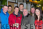 The hair of the dog<br /> -------------------------<br /> enjoying a jar at the Kingdom cup coursing at Ballybeggan Pk, Tralee on Dec 27th last were L-R Ian O'Carroll, `micky Kennelly, Terry&amp;Peter  Namock, Bertie Foran, Bob Sugrue and Grain Herbert.