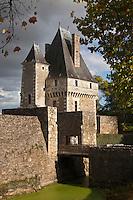 Europe/France/Pays de la Loire/44/Loire-Atlantique/Haute-Goulaine: Le château de Goulaine - Le domaine du château est l'un des derniers châteaux de la Loire à encore produire du vin