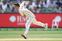 28th December 2019; Melbourne Cricket Ground, Melbourne, Victoria, Australia; International Test Cricket, Australia versus New Zealand, Test 2, Day 3; Trent Boult of New Zealand bowls
