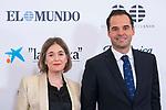 Marta Rivera and Ignacio Aguado during Commemorative act of the foundation of newspaper 'El Mundo'. October 01, 2019. (ALTERPHOTOS/ Francis Gonzalez)