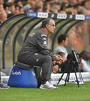 Leeds United's Manager Marcelo Bielsa<br /> <br /> Photographer Dave Howarth/CameraSport<br /> <br /> The EFL Sky Bet Championship - Leeds United v Brentford - Wednesday August 21st 2019 - Elland Road - Leeds<br /> <br /> World Copyright © 2019 CameraSport. All rights reserved. 43 Linden Ave. Countesthorpe. Leicester. England. LE8 5PG - Tel: +44 (0) 116 277 4147 - admin@camerasport.com - www.camerasport.com