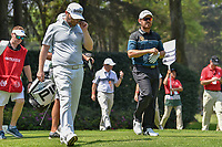 Brandon Grace (RSA) and Louis Oosthuizen (RSA) depart the 12th tee during round 2 of the World Golf Championships, Mexico, Club De Golf Chapultepec, Mexico City, Mexico. 3/2/2018.<br /> Picture: Golffile | Ken Murray<br /> <br /> <br /> All photo usage must carry mandatory copyright credit (&copy; Golffile | Ken Murray)