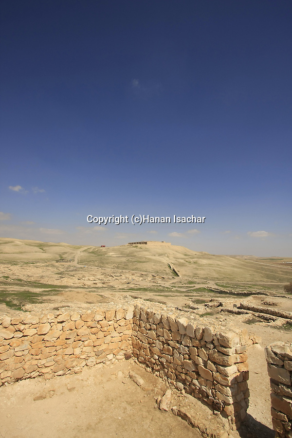 "Israel, Negev. The early Bronze age ""Arad House in Tel Arad"