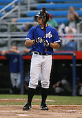 July 14th, 2007:  Joe Nowicki of the Aberdeen Ironbirds, Class-A Short-Season affiliate of the Baltimore Orioles, at bat during a game vs the Jamestown Jammers in New York-Penn League action.  Photo Copyright Mike Janes Photography 2007.
