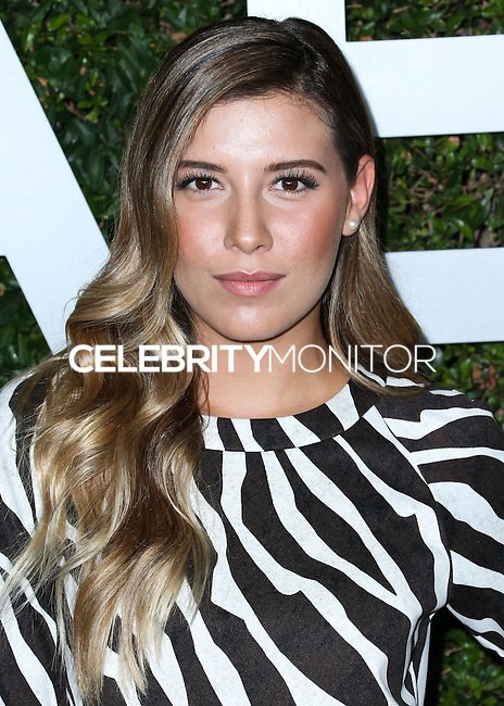 BEVERLY HILLS, CA, USA - OCTOBER 02: Michelle Salas arrives at Michael Kors Launch Of Claiborne Swanson Franks's 'Young Hollywood' Book held at a Private Residence on October 2, 2014 in Beverly Hills, California, United States. (Photo by Xavier Collin/Celebrity Monitor)