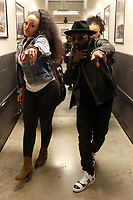 BROOKLYN, NY - MAY 12: Anthony Hamilton and Elle Varner backstage the 2nd Annual Mother's Day Good Music Festival at the Barclay's Center in New York City on May 12, 2017. Credit: Walik Goshorn/MediaPunch